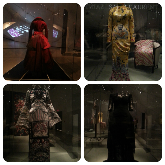 Photos of the Big Fashion exhibit at The ROM in TOronto