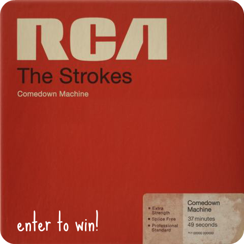 strokes-comedown-machine vinyl win it enter to win canada free cd video all the time rca sony toronto