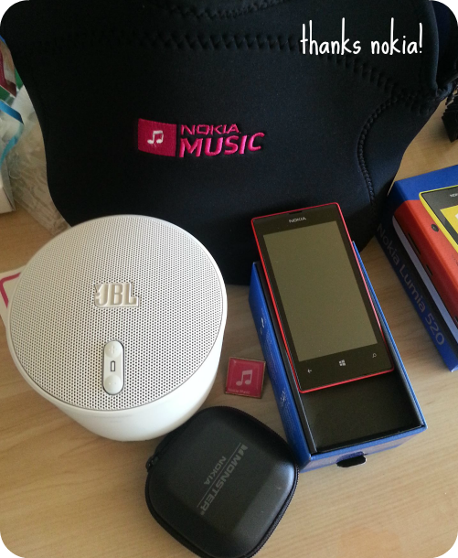 nokia music canada lumia 520 review jbl wireless speakers tech music blog the killers toronto acc annoucement