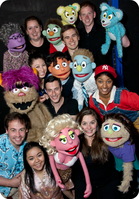 avenue q in toronto at lot theatre lower ossington theatre review cast photo