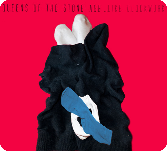 Like Sockwork Qotsa Queens of the Stone Age Like Clockwork album cover recreated with socks