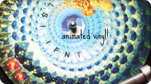 Animated Vinyl Picture Disc