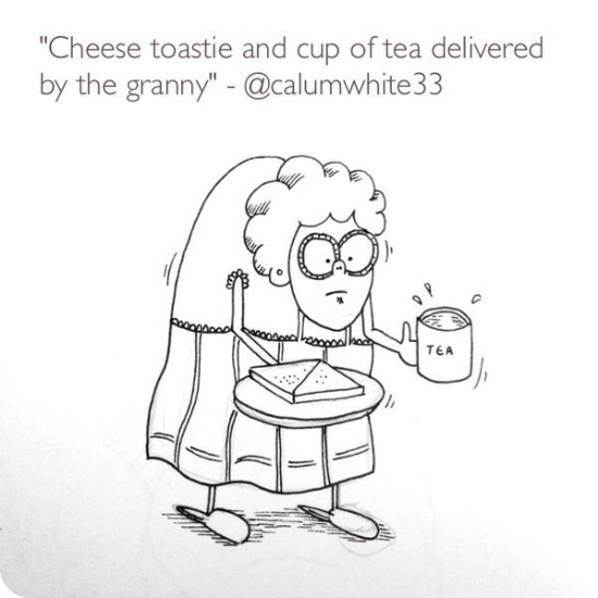 drawn your tweet granny