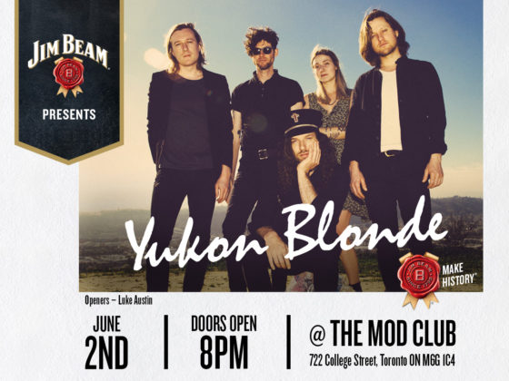 Win VIP Tix To Yukon Blonde At Mod Club